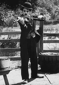 Charlie Chaplin in The Vagabond, Mutual. John Hawkes, Charles Spencer Chaplin, See Movie, My Prince Charming, Bad Memories, Charlie Chaplin, Aragon, Silent Film, Classic Movies