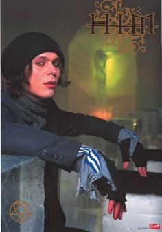 HIM Ville Valo Green Jesus Poster 22x34 – BananaRoad