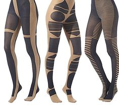 Limited edition artisan tights by Patternity