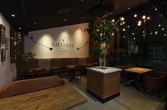 2015.05.31 Grand Open. Bakery & CafeDining RACCOLTA Toyonaka-shi,Osaka,Japan. Architecture & Interior Design: ZYCC / Muroya Shoichiro Direction: operation factory / Koh Yasuyuki / Matsumoto Kunihiko Green planner: mondoverde / Fujita Takeshi Lighting plan:FORUM inc./ Asakura Hanako