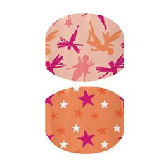 Starry Day and Pink Tink Junior nail wraps by Jamberry Nails Jamberry Nails Consultant, Jamberry Nail Wraps, Jamberry Juniors, Love Fairy, One Design, Spring Break, Pretty Nails, Pedicure, You Nailed It