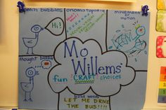 Literacy and Laughter - Celebrating Kindergarten children and the books they love: Studying Mo Willems' Craft