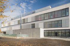 Aluminum solar shading / facade / swivelling Tamilip Brise Soleil Tamiluz