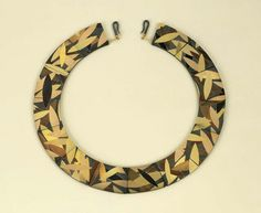 Inlay Necklace by Suzan Resnic