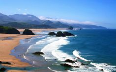 Ecola State Park, Seaside, Oregon | United States, USA Pictures