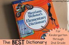 Best Dictionary for Kindergarten through 2nd Grade - we love it!