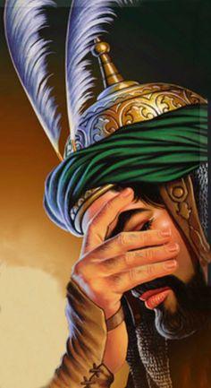 Ali Islam, Imam Ali, Islam Quran, Roza Imam Hussain, Hussain Karbala, Mecca Wallpaper, Islamic Wallpaper, Islamic Paintings, Religious Paintings
