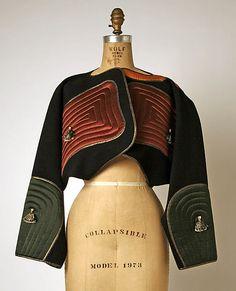 Geoffrey Beene fall/winter 1983–84 Culture: American Medium: wool, silk, metallic