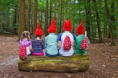 Mogen we je een geheimpje verklappen? In de bossen van Staatsbosbeheer wonen kabouters… Met een rood puntmutsje en een huisje in een paddenstoel.