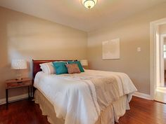 Staged Master Bedroom #BTSH #Staging