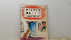 Mouse House, 1968, Rumer Godden, vintage kids book, vintage mouse book by RandomGoodsBookRoom on Etsy