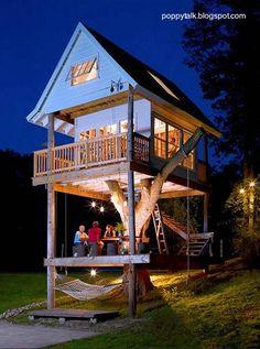 Casa del árbol para adultos