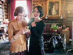 Downton Abbey Season 5: See Behind-the-Scenes Photos from the Set