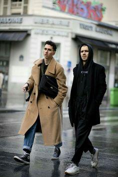 Fashion Week Paris, Fashion Weeks, London Fashion, Streetwear Mode, Streetwear Fashion, Style Casual, Men Casual, Men's Style, Casual Styles