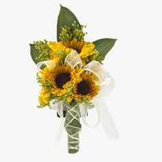 Sunflowers corsage