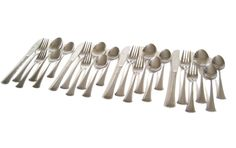 New to LaurasLastDitch on Etsy: Stainless Flatware Set Silverware 24 pc Service for 4 Stainless Steel Japan Scroll Handle Design (58.99 USD)