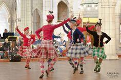 The Auckland region highland dance team