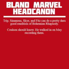 Bland Marvel Headcanons - These headcanons are amazing.