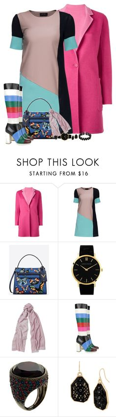 """Color's for Winter"" by montse-gallardo ❤ liked on Polyvore featuring MaxMara, Lattori, Valentino, Larsson & Jennings, Ralph Lauren, Kenneth Jay Lane, Mixit and Belk & Co."