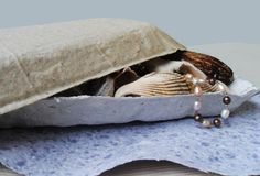 long handmade paper dish art 14x6 inches white or by UselessPaper, $8.95