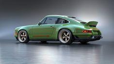 Singer-Modified Porsche 911. That green!
