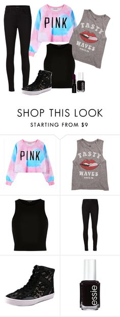 """#"" by brenda-199 ❤ liked on Polyvore featuring Chicnova Fashion, Billabong, River Island, J Brand, Rebecca Minkoff, Essie and Smashbox"
