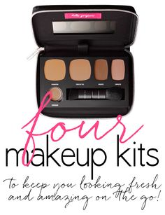 Amazing Makeup Kits for mid-day touchups or travel! They have everything you need from Concealer to Powder.