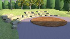 Central Public School - Natural Playground Design