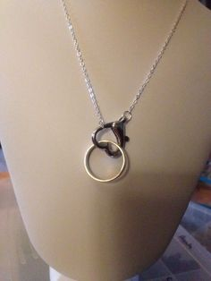 Beloved Wedding Band Made Into A Necklace Pendant Bowen