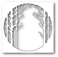 Boutique scrapbooking - Die BigShot Memory Box arbre hiver