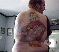 Hulk Hogan tattoo