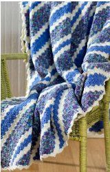 The Corner to Corner Throw is perfect for a crocheter that has some experience.