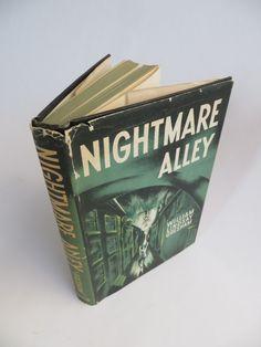 "Legendary Carnival Horror / Mystery Noir Pulp Novel ""NIGHTMARE ALLEY"" by William Lindsay Gresham: 1946 First Edition Hardback by MerlesVintage on Etsy"
