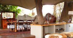 Die Albida Suite des Chongwe River Camp im Lower Zambezi in Sambia - Luxus und Tiererlebnis pur