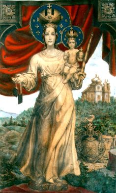 ♛ Our Lady of Mount Carmel, by Bosacek
