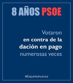 Dación en pago PSOE #DEN2014