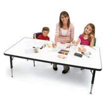 "Imagination Station Dry-Erase Table - 30"" x 60"""