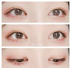 - My best makeup list Korean Makeup Tips, Korean Makeup Look, Korean Makeup Tutorials, Asian Eye Makeup, Simple Eye Makeup, Korean Beauty, Makeup List, Makeup Haul, Japanese Makeup