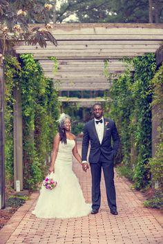 Real Weddings {North Carolina}: Latoya & Adebowale! - Blackbride.com captured by Derrick Bryant of One Vision Photography!