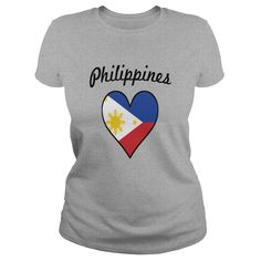 Philippines Flag Heart - Mens V-Neck T-Shirt by Canvas  #gift #ideas #Popular #Everything #Videos #Shop #Animals #pets #Architecture #Art #Cars #motorcycles #Celebrities #DIY #crafts #Design #Education #Entertainment #Food #drink #Gardening #Geek #Hair #beauty #Health #fitness #History #Holidays #events #Home decor #Humor #Illustrations #posters #Kids #parenting #Men #Outdoors #Photography #Products #Quotes #Science #nature #Sports #Tattoos #Technology #Travel #Weddings #Women