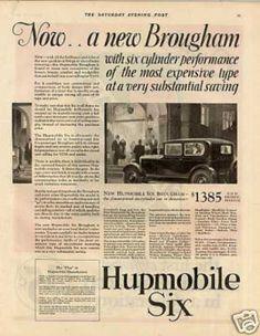 Hupmobile Six Brougham Car (1927)