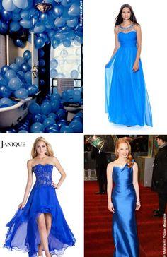 NewYorkDress Blog // Color Trend: Bold Blue // Click through for more bold blue inspiration!