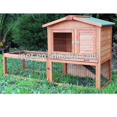 Rh064 Hot Sell Outdoor Wooden Hamster Cage