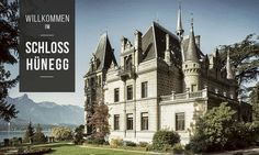 Schloss Hünegg – Home A beautiful place on the lake Thun with a wonderful park and museum.