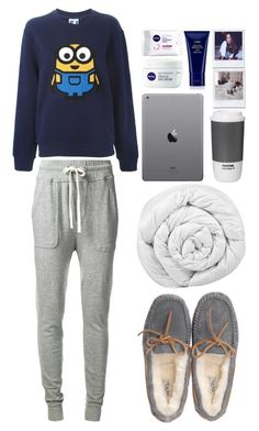 """One Night"" by vanessasimao1999 ❤ liked on Polyvore featuring James Perse, Steve J & Yoni P, UGG Australia, Brinkhaus, Nivea, Oribe and ROOM COPENHAGEN"