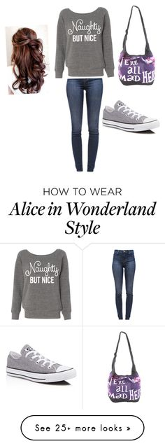 """""""Chili Peppers"""" by luly-2 on Polyvore featuring J Brand, Converse and Disney"""