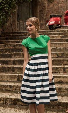 Fantastic striped dress