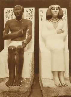 """Prince Rahotep was a Prince in ancient Egypt during the 4th dynasty. He was probably a son of Pharaoh Sneferu and his first wife, although Zahi Hawass suggests his father was Huni. Rahotep (R' htp) means """"Ra is Satisfied"""". Rahotep's wife was Nofret. Rahotep's older brother was Nefermaat I, and his younger brother was Ranefer. Rahotep died when he was young, and so his half-brother Khufu became pharaoh after Sneferu's death."""