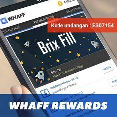 Get Income For Free / Dapat Duit Gratis Disini..Install Aplikasinya Lalu Masukan Kode Referall nya ES07154