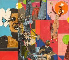 Romare Bearden, Billie Holiday, 1973 Image via Artnet